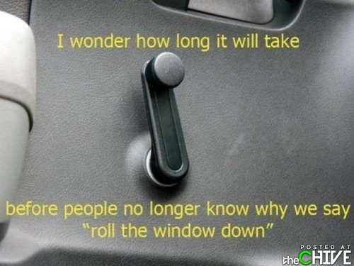 So true. I got into one of these old cars recently and