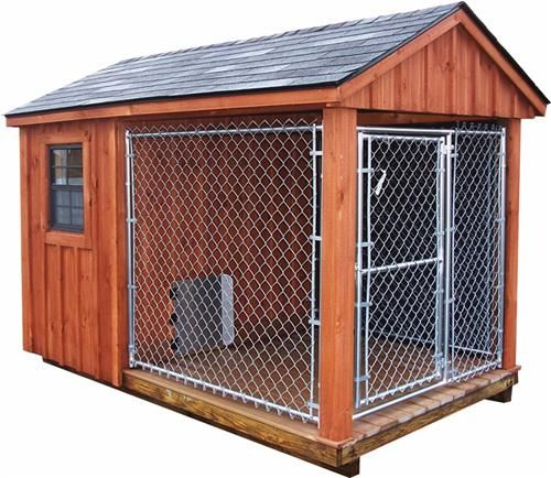1000 images about chicken coop different types on for Dog kennel shed combo plans