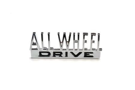 "Scout 80/800 ""All Wheel Drive"" Emblem! - International Scout Parts - Scout II Parts - Your Authorized IH Lightline Dealer"