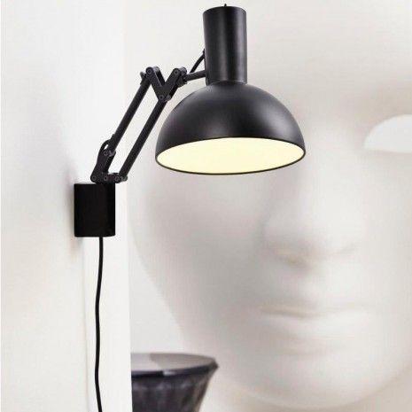 nordlux arki wandlamp zwart woonkamer pinterest. Black Bedroom Furniture Sets. Home Design Ideas