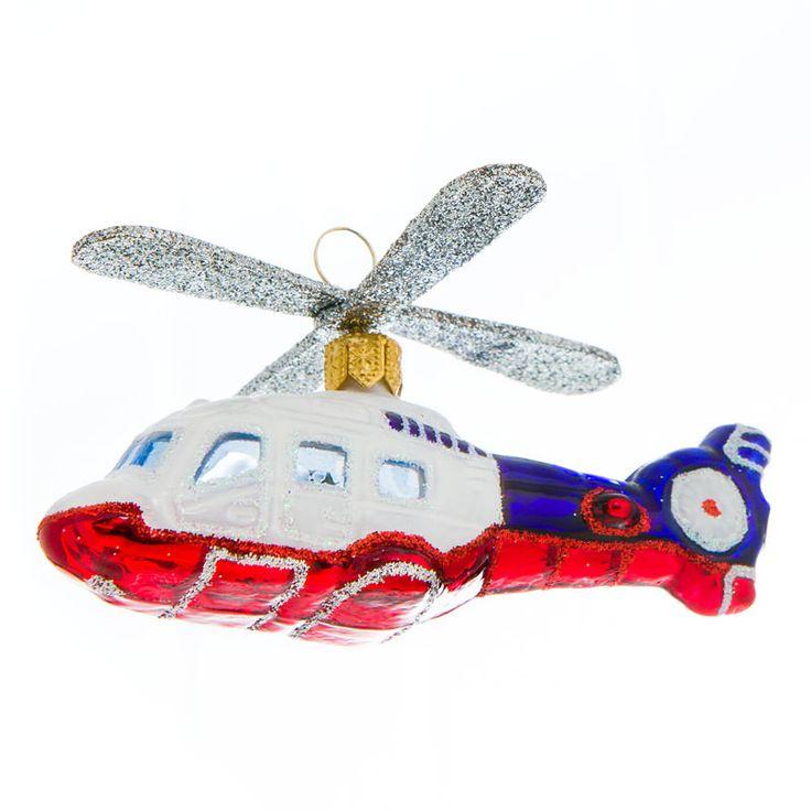 Helikopter i glas