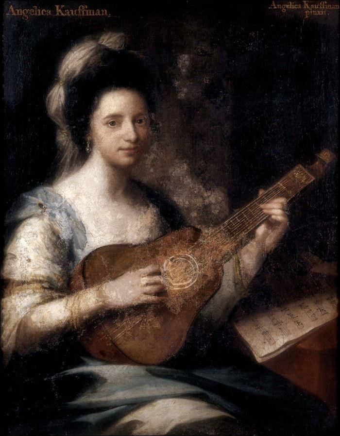 Angelica Kauffman · Autoritratto · 1767-70