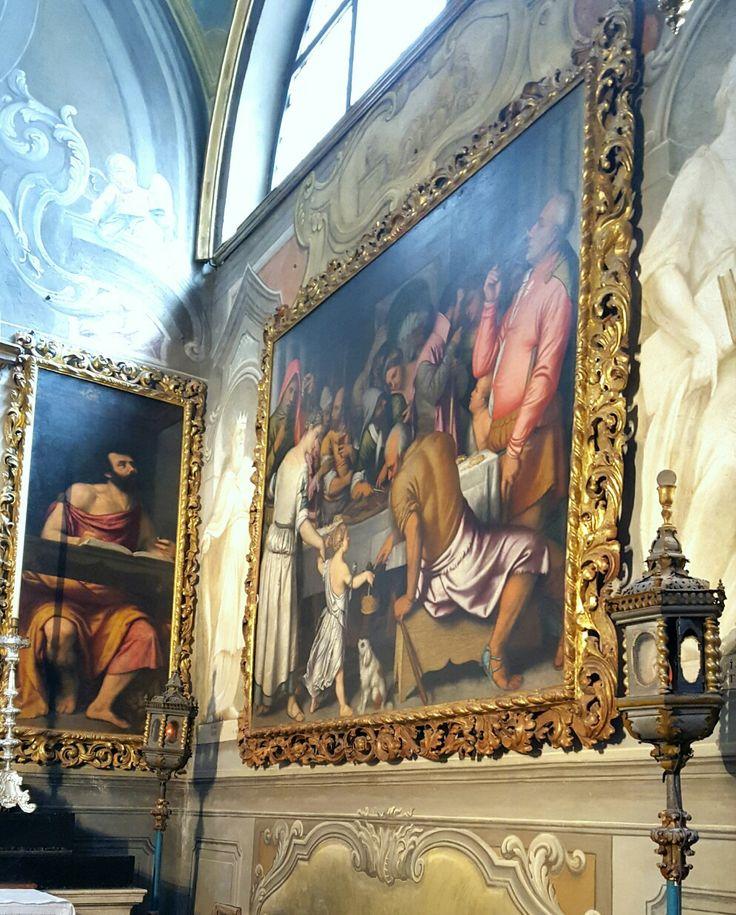 Il Convitto dell'agnello pasquale - Moretto - Cappella del SS. Sacramento