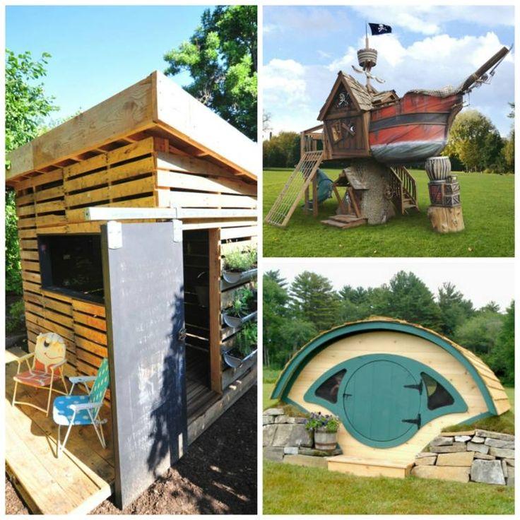 78 id es propos de cabane pour enfants de jardin sur pinterest cabanes pour les enfants for Cabane de jardin que choisir