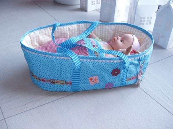 Simau´s Hobbyschmiede: Puppentragetasche