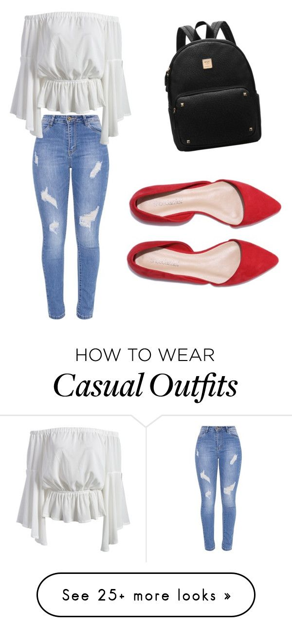 """Casual chic"" by marissa-ann13 on Polyvore"