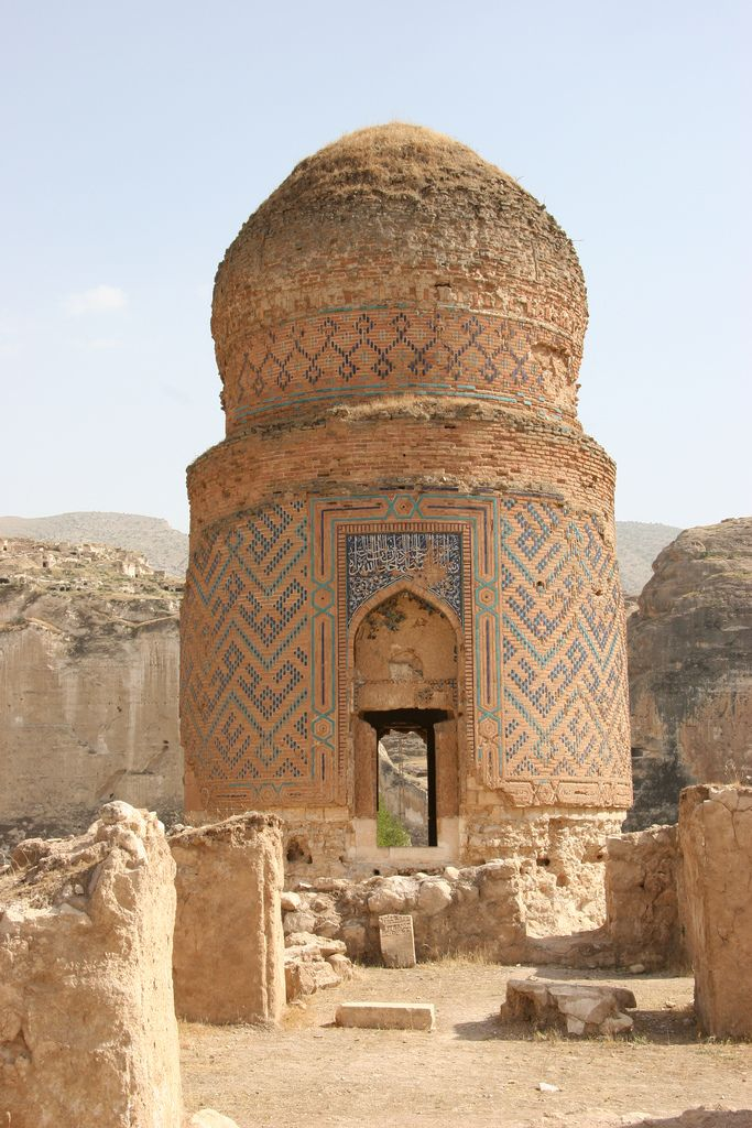 Hasankeyf Turkey. Mausoleum of Zeynel Bey, son of Sultan Uzun Hasan (Hasan the Tall) of the Aq Qoyunlu dynasty, or White Sheep Turkomans (1378–1508)