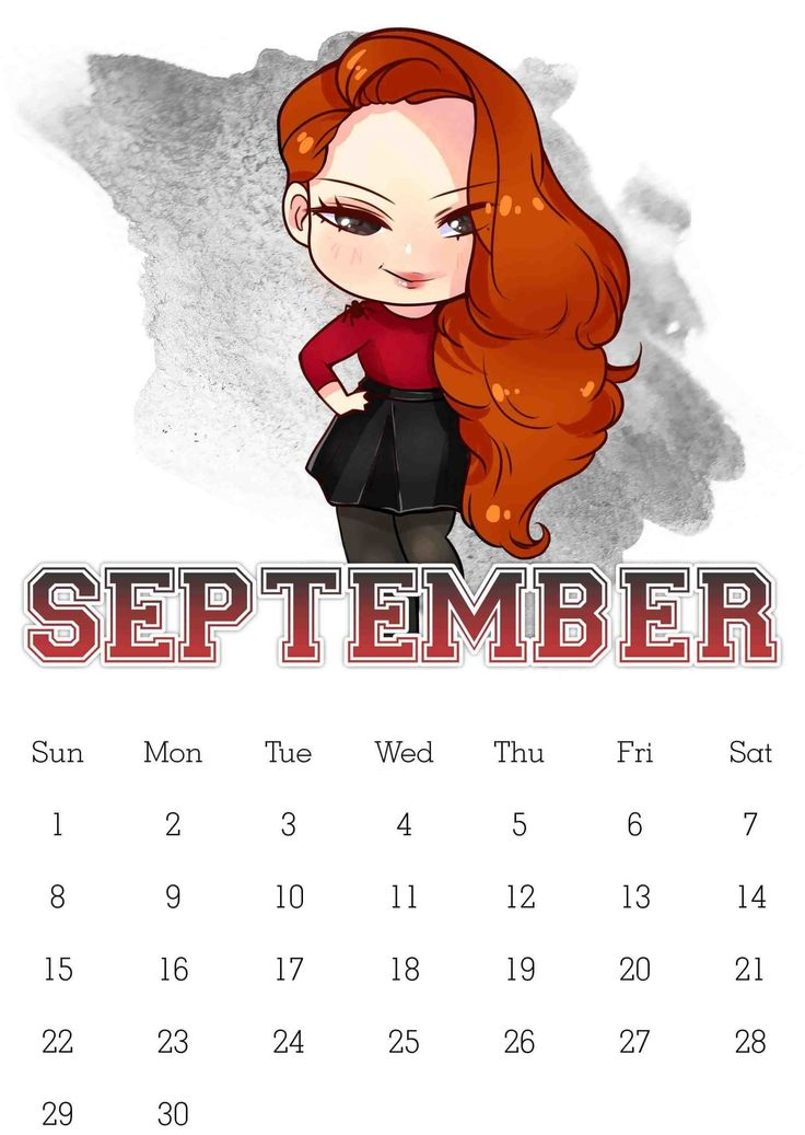 Monthly September Calendar 2019 Free September calendar