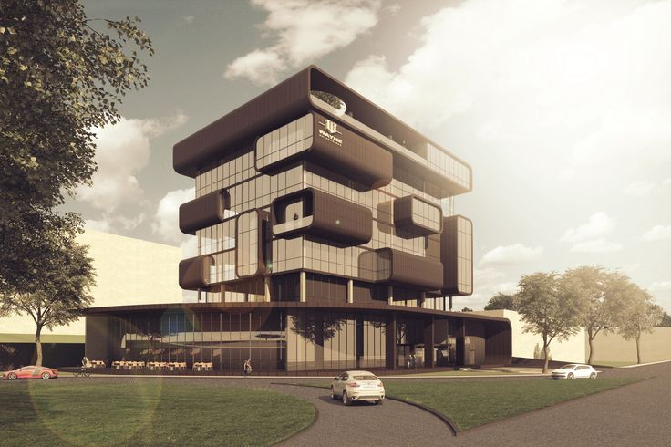 Office building project in Cluj-Napoca, Romania
