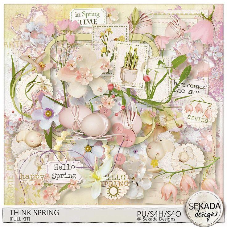 Digital Art :: Bundled Deals :: Think Spring [Bundle]