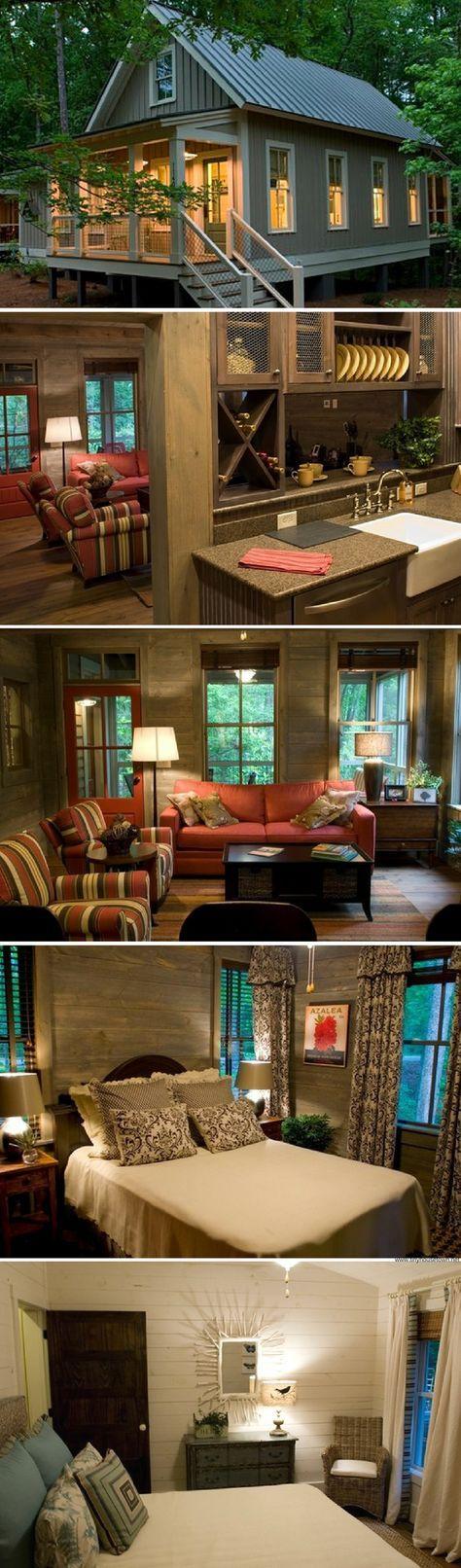 Camp Calloway: a 1,091 sq ft cabin in Georgia
