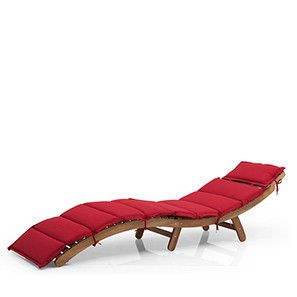 Lucia Folding Sun Lounger (Acacia Finish)