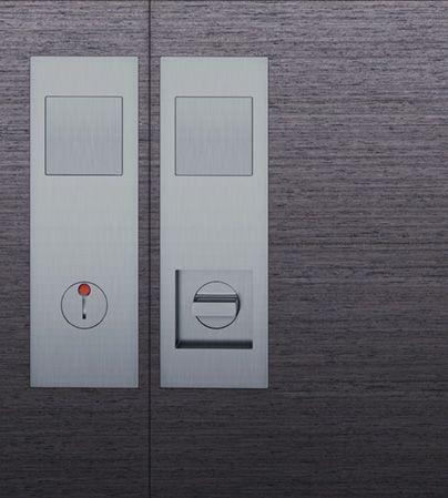 Pocket door lock and flush pull in stainless pocket door components pinterest models - Fsb pocket door hardware ...