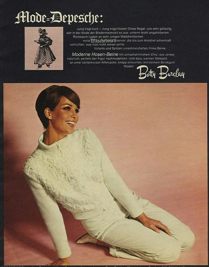 info for 9ee48 4691d Betty Barclay | 1960's Fashion Ads | 70s fashion, 1960s ...
