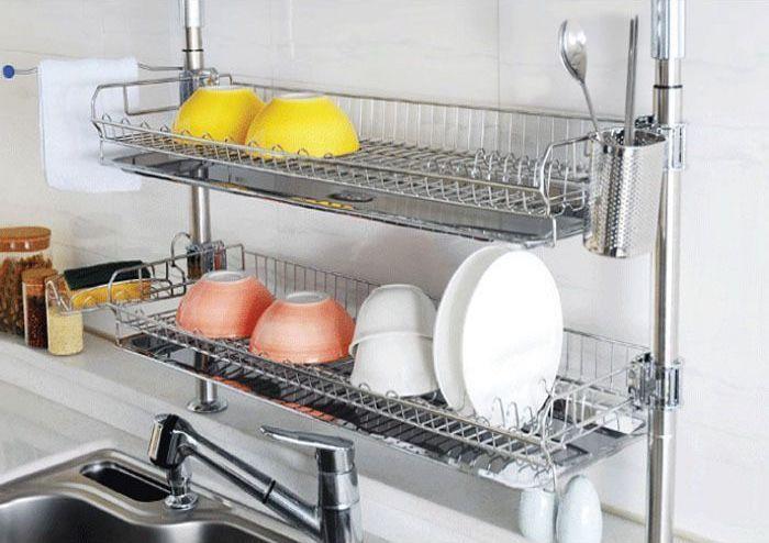 Kitchen Design Get The Dish Rack Off The Counter Kitchen Sink
