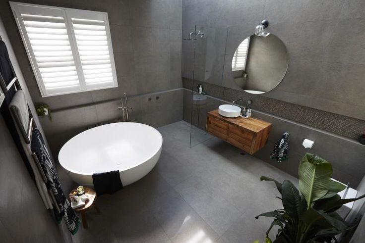 Josh and Elyse's near-perfect bathroom...in week one! | The Block Shop
