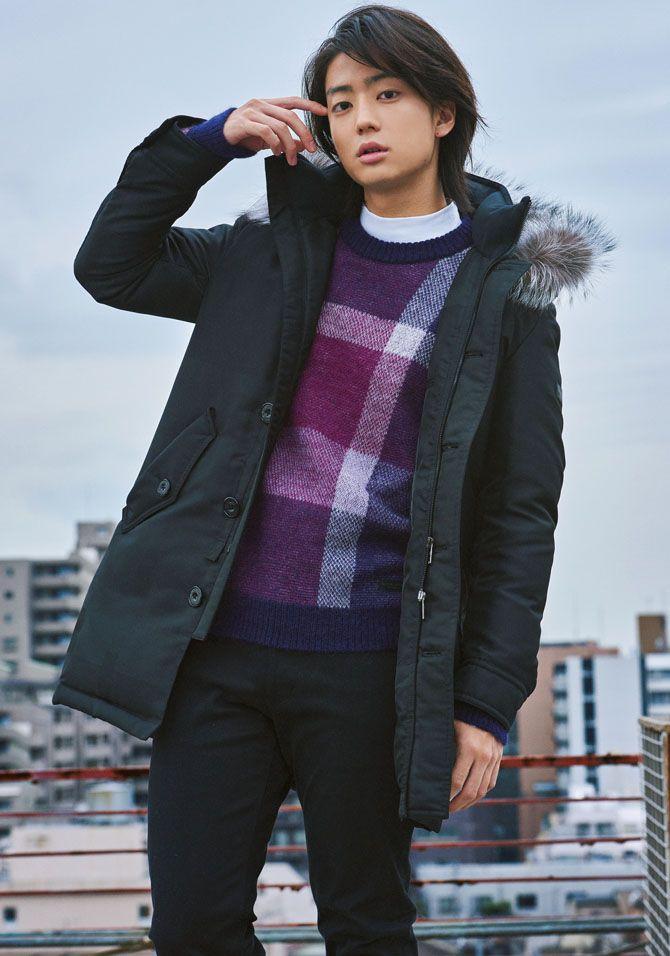 今日から俺は で活躍中の伊藤健太郎が着こなす 旬のアウター4選 ファッション メンズファッション 伊藤