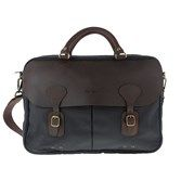 Barbour Wax Leather Briefcase Shoulder Bag
