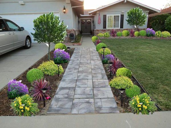 vorgartengestaltung ideen vorschl ge wie sie den vorgarten gestalten vorgarten pinterest. Black Bedroom Furniture Sets. Home Design Ideas
