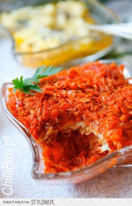"""Ryba """"po grecku"""" 3 części marchwi* 1 część pietruszki… na Stylowi.pl"""