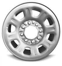 "New 18"" Steel Rim (11-17) Sierra 2500 3500 or (11-17) Chevy Silverado 2500 3500 Was: $110 Now: $99."