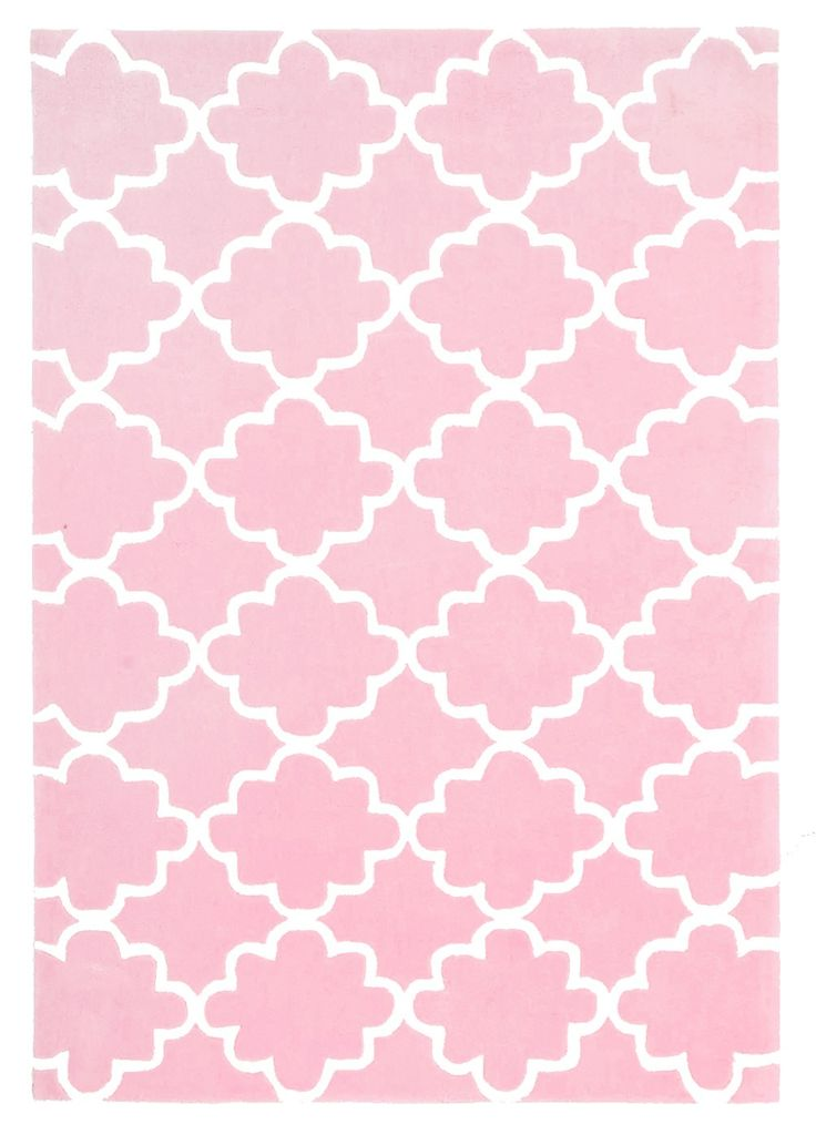 Kids Trellis Rug Pink - Childrens Rugs | Interiors Online - Furniture Online & Decorating Accessories