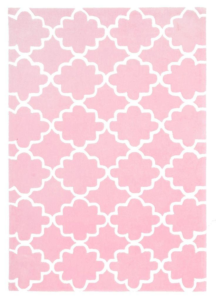 Kids Trellis Rug Pink - Childrens Rugs | Interiors Online - Furniture Online & Decorating Accessories