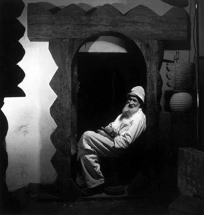 14 Constantin Brancusi, Paris, 1946, photo by Wayne Miller