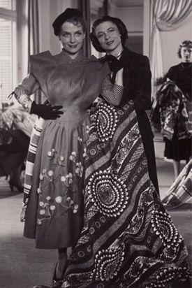 Madame Carmen de Tommaso 1909 France Couturier established Carven in 1945 at work (1940).