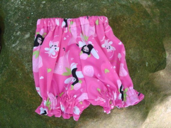 Waterproof pul Baby Girl's Shortie Pull Up Diaper by MumtazSoakers