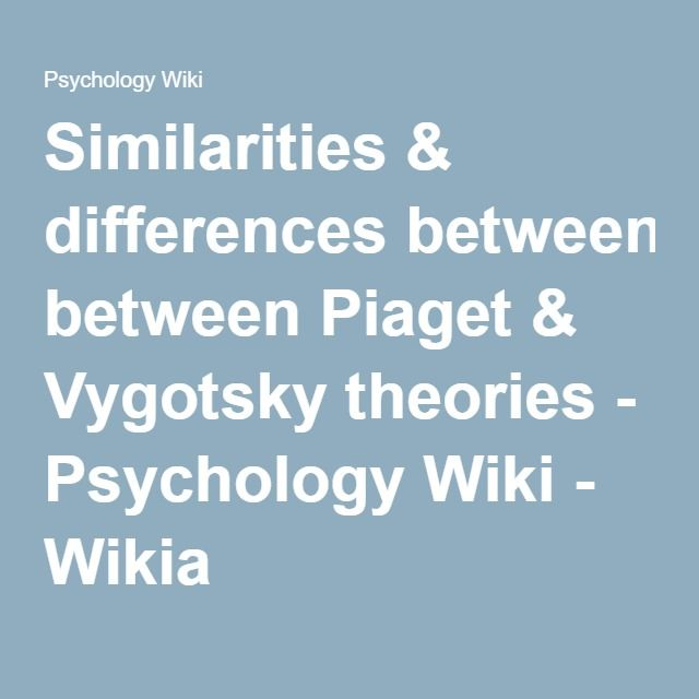 what are the similarities and differences among the different need theories The neo-piagetian theories of cognitive development suggest that in addition to the concerns above, sequencing of concepts and skills in teaching must take account of the processing and working memory capacities that characterize successive age levels.