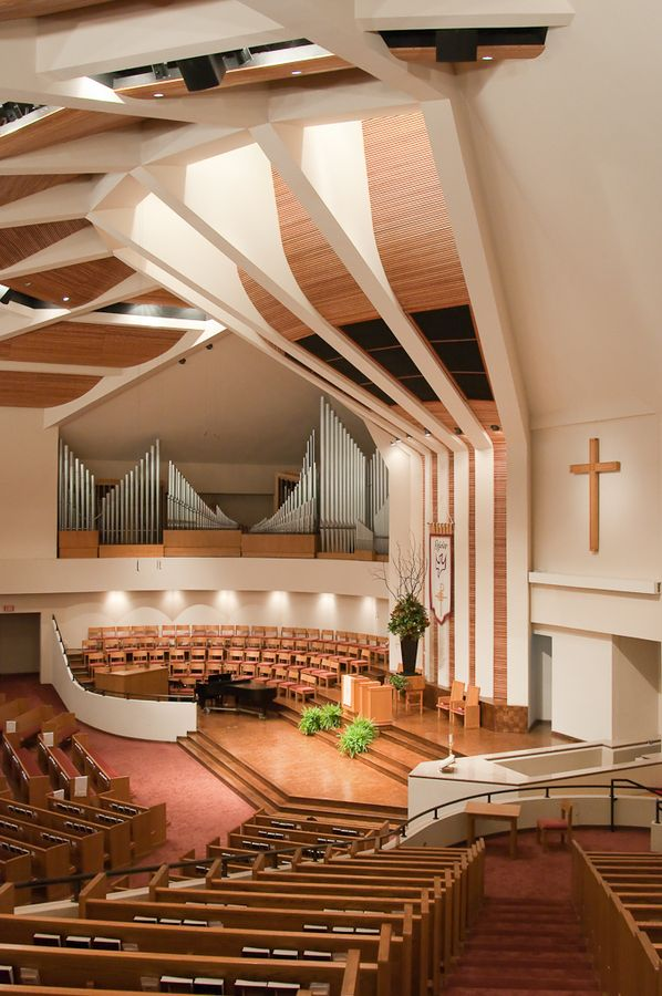 First Baptist Church Sanctuary By Drew Sumrell On Modern Churchchurch Designchurch Interior