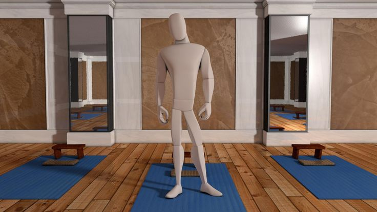 Animation Body Mechanics - Sit Down, Get Up Cycle