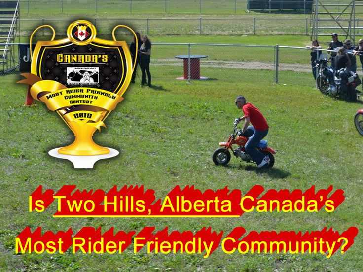 Is Two Hills, AB Canada's Most Rider Friendly Community?  http://www.riderfriendlycontest.ca