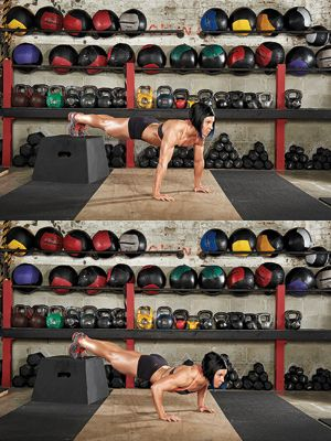 Dana Linn Bailey's Total Body Blast Muscle and Fitness Hers