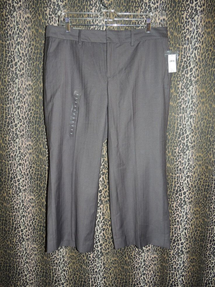 Gap Women's Straight Fit Favorite Trouser Cropped Capris Pants Size 14R NWT HOT! #GAP #CaprisCropped