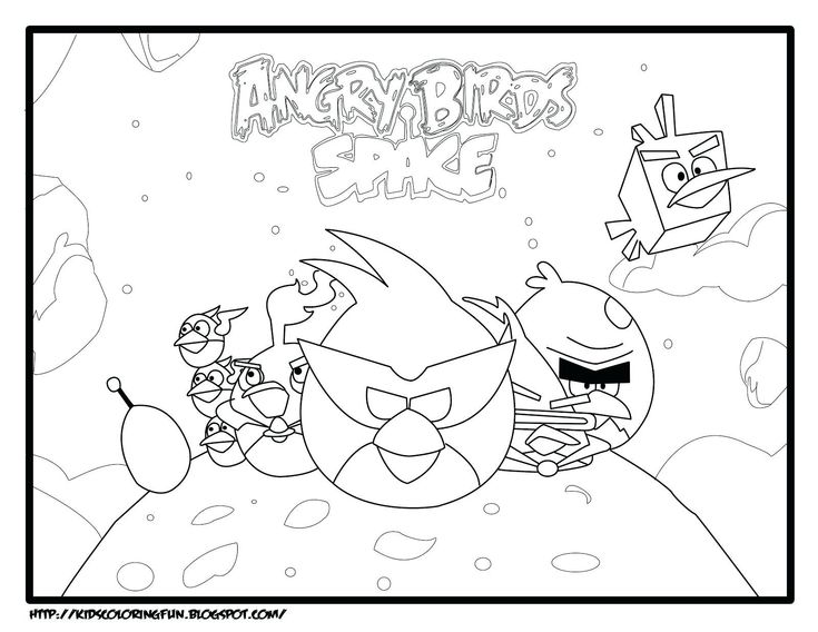 Angry Birds Go Jenga Coloring Pages 2019 Coloring Page