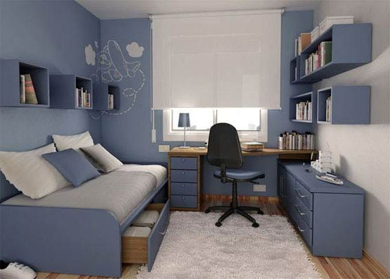 Ergonomic-Small-Teen-Bedroom-Interior-Designs