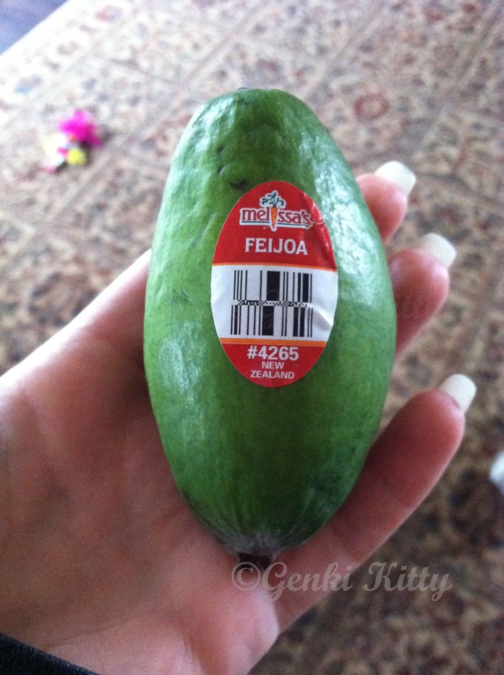 feijoa new fruit from new zealand