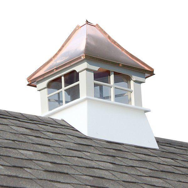 Rainier Vinyl Cupola Copper Roof Cupolas House Exterior