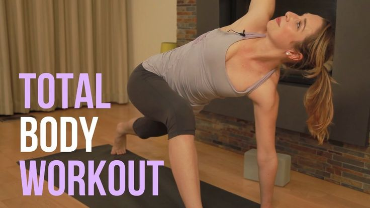 Total Body Yoga Workout - Vinyasa Yoga HIIT Strength & Sculpt {30 min}