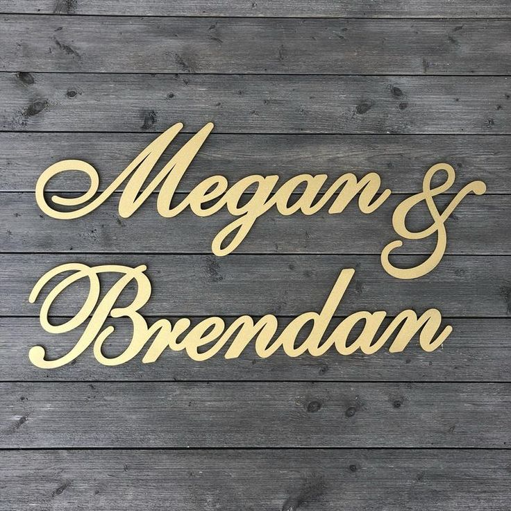Personalized Couples Name Sign Version 2 Name1 & | Etsy in