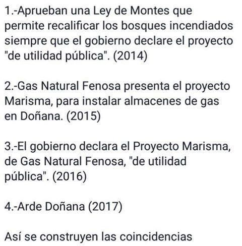 ¿Refosterán Doñana o veremos una mega-construcción de Gas Natural Fenosa?  http://www.eldiariohoy.es/2017/06/refosteran-donana-o-veremos-una-mega-construccion-de-gas-natural-fenosa.html?utm_source=_ob_share&utm_medium=_ob_twitter&utm_campaign=_ob_sharebar #Doñana #rajoy #pp #psoe #politica #corrupcion #corruptos #anticorrupcion #GasNaturalFenosa #españa #Spain #gente #incendiosprovocados #intereses