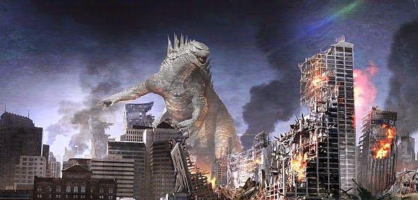 Godzilla (2014) concept art by Brian Cunningham