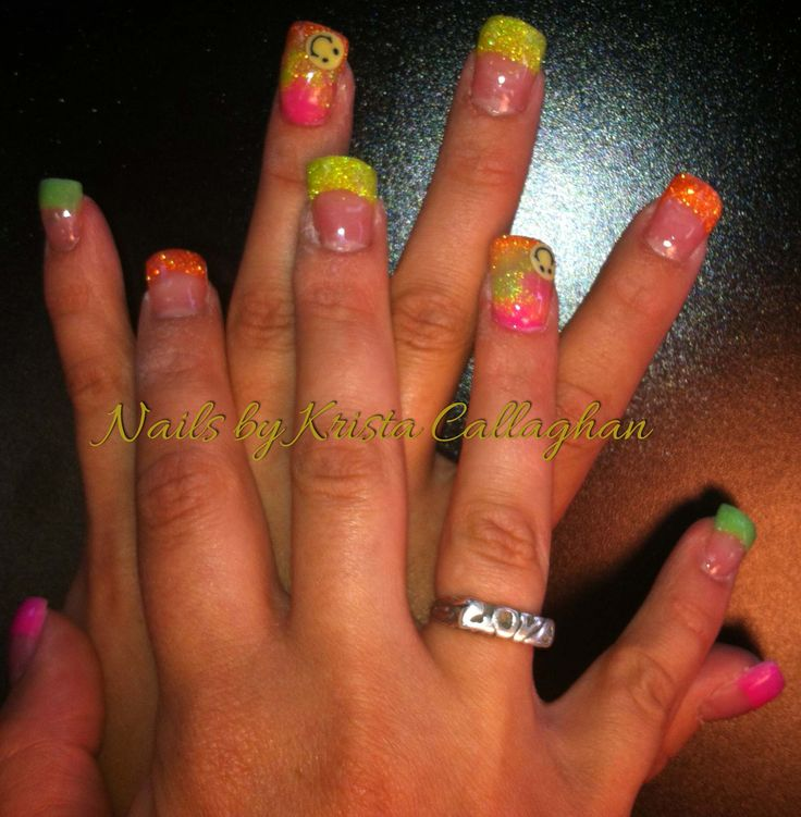 60 best images about nails by krista callaghan on pinterest for Acrylic nail salon