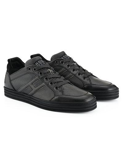 #HOGANREBEL R141 High-top #sneaker in #suede. Discover more #urban looks here  hoganrebel.com/men