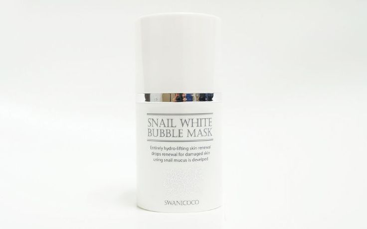 swanicoco Snail white bubble mask 50ml Cleansing, large pores, sebum, impurities #swanicoco
