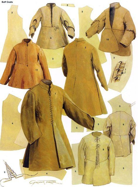 17th century buff coats