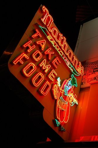 Famous Neon Signs | Nathan's Famous Take Home Food. http://www.flickr.com/photos/tspauld ...