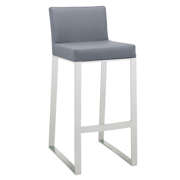 Sunpan u0027Ikonu0027 Architect Contemporary Bar Stool (Grey) (Faux Leather)  sc 1 st  Pinterest & Best 25+ 30 bar stools ideas on Pinterest | Buy bar stools 36 bar ... islam-shia.org